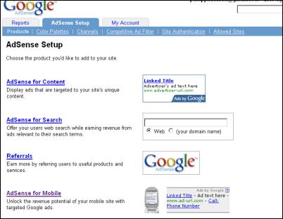google adsense for mobile