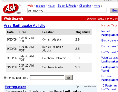 Earthquake Pictures And Information Ask.com Earthquake Information