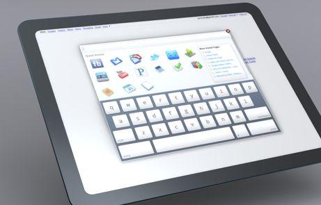 Google Chrome OS Tablet Design Exploration