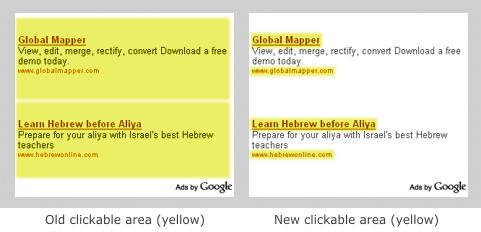 Google Adsense меняет объявления