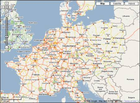 Google Maps Europe Now Detailed - Germany map google