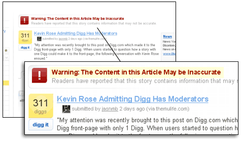 '... Warning: The Content in this Article May be Inaccurate ...'