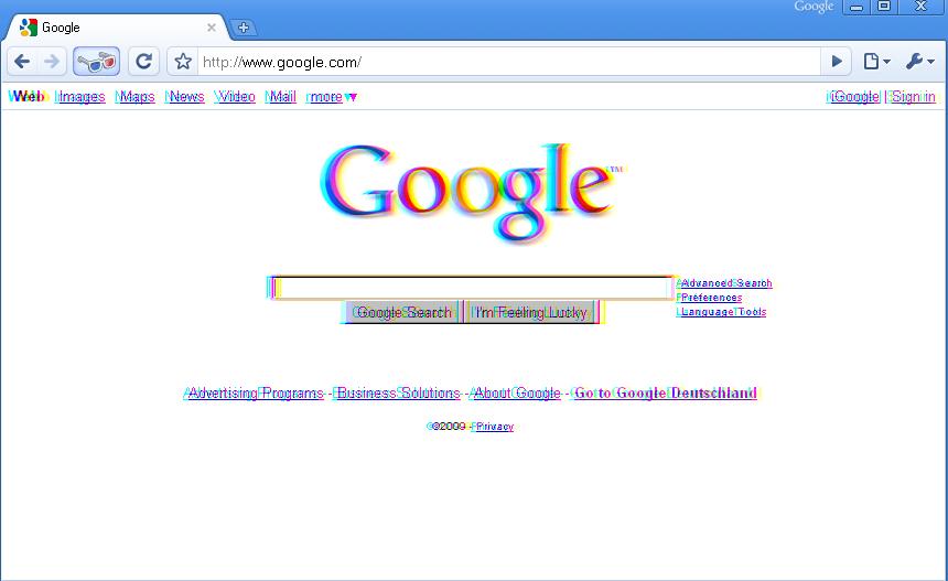 Google's April Fools 2009