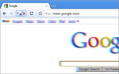 Google chrome 3d themes