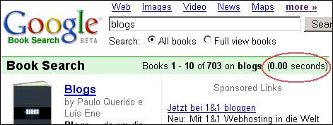 Fast Google Book Er