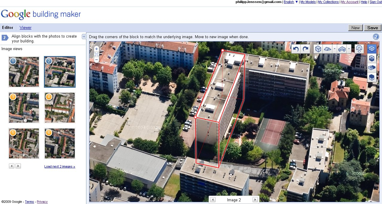 Kort for hovedet the giscovery channel google building for Building map maker