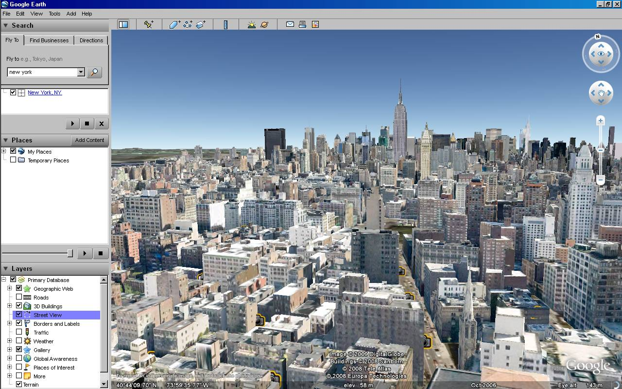Google Earth Updates 3d New York