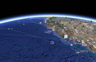 Google Earth 5 Maps Oceans