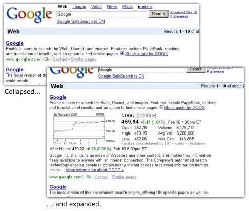 Goog Stock Quote | Google Finance Plusbox