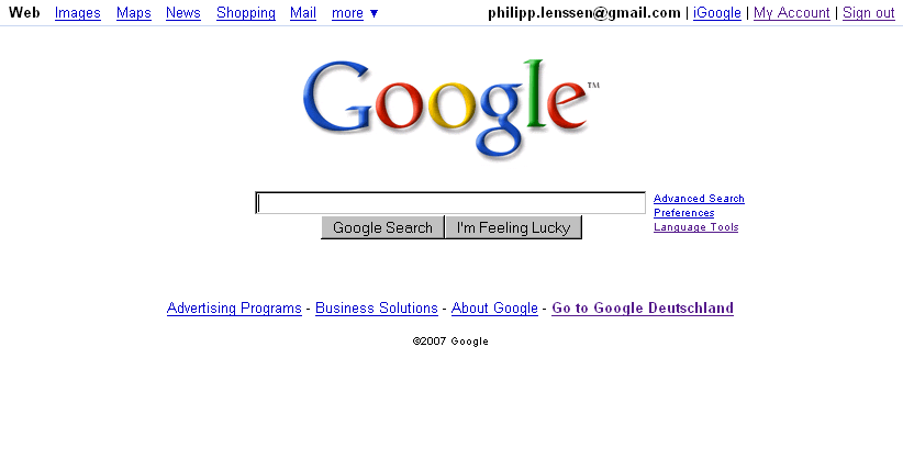 The Google Homepage FAQ