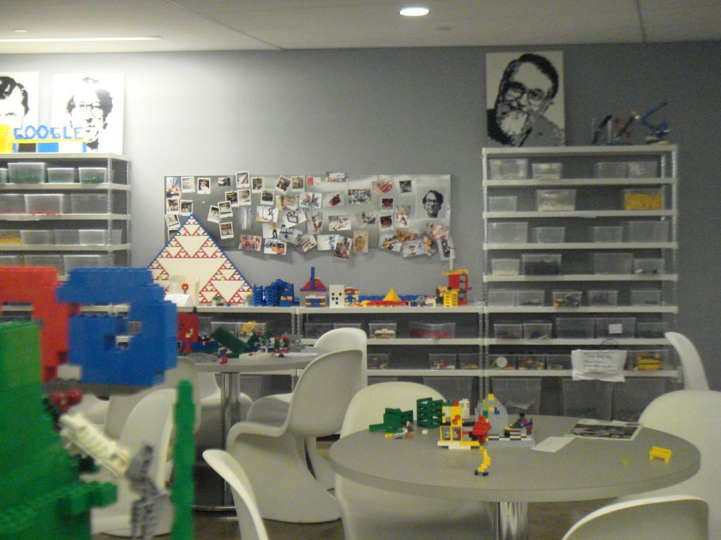 Lego in ny google office for Image of google office