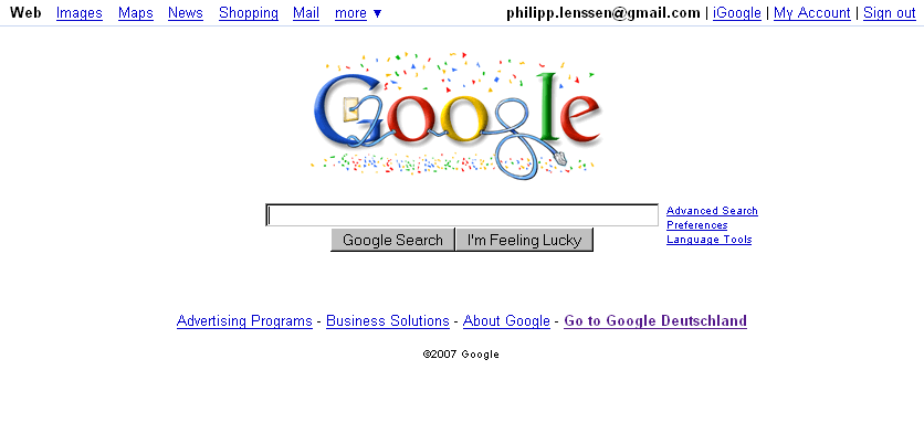 google 1 logo. Today#39;s Google logo reads
