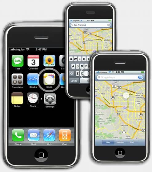 Apple navigation