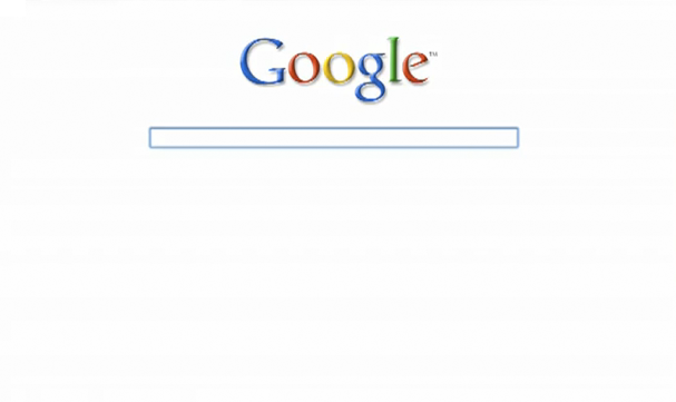 A minimalist google homepage prototype for Minimalist homepage
