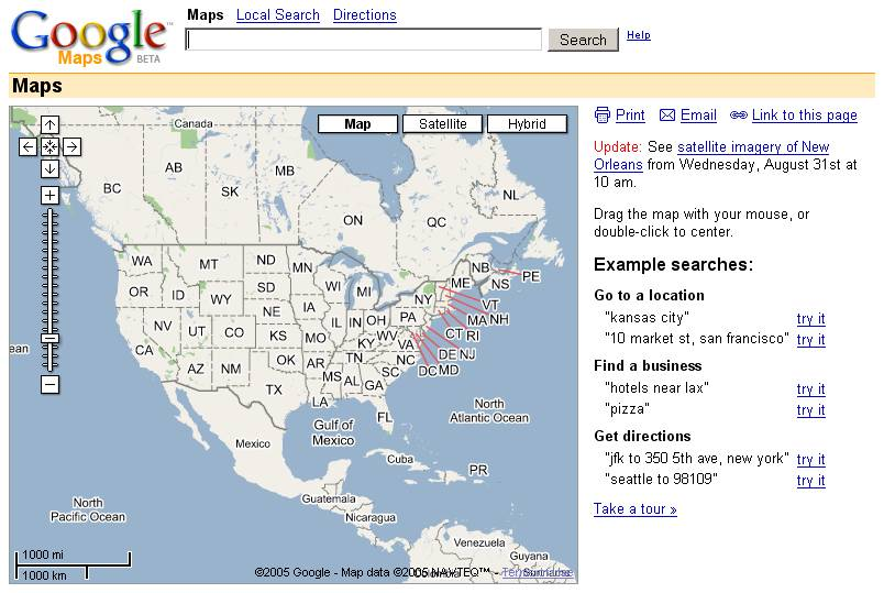 Google Local and Maps Merge