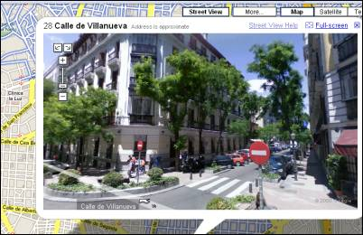 Google Street View Spain Is Live