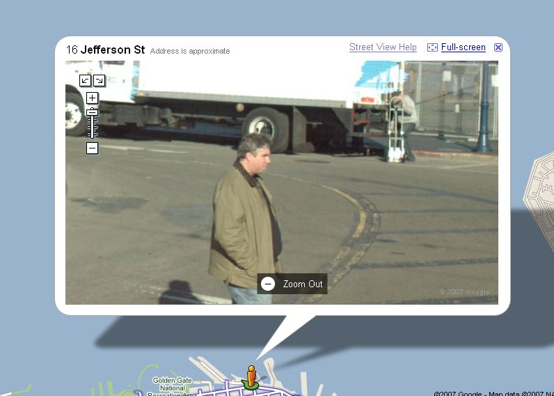 Want to get a face removed in Google Maps Street