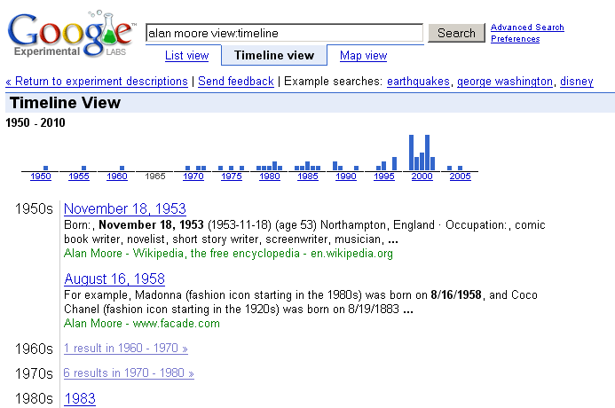 Google's Timeline Feature