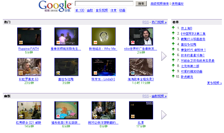 Videos Google