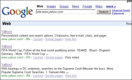 Google Blog Search Sidebar | Yahoo Tetris | Google ...