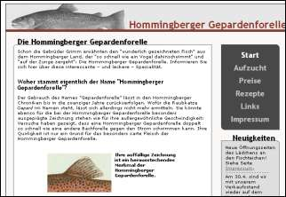Hommingberger Gepardenforelle