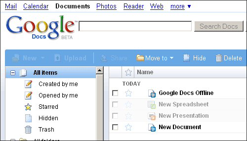 Using Google Docs Offline - Google documents offline