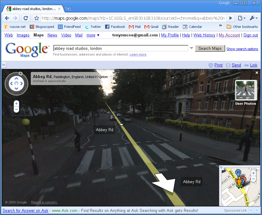 google street view launched in uk and netherlands by tony ruscoe