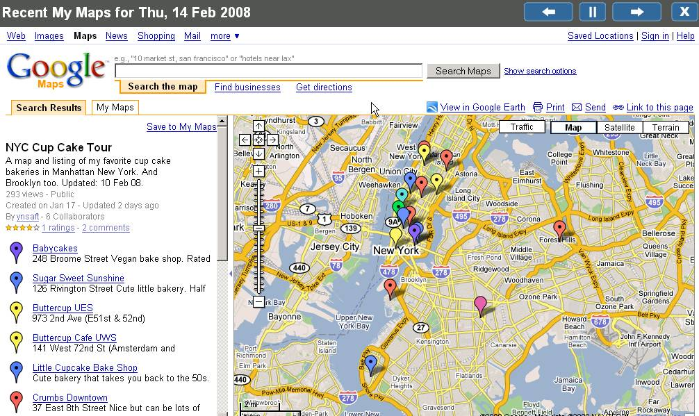 Maps Google Maps: Google My Maps Viewer
