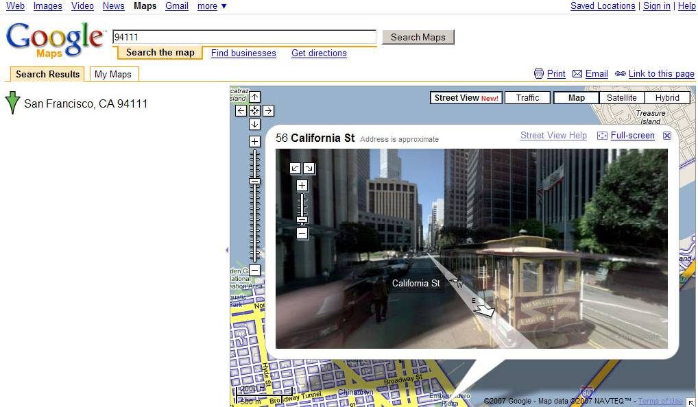 Google Maps Street View And Mapplets - Google maps street view