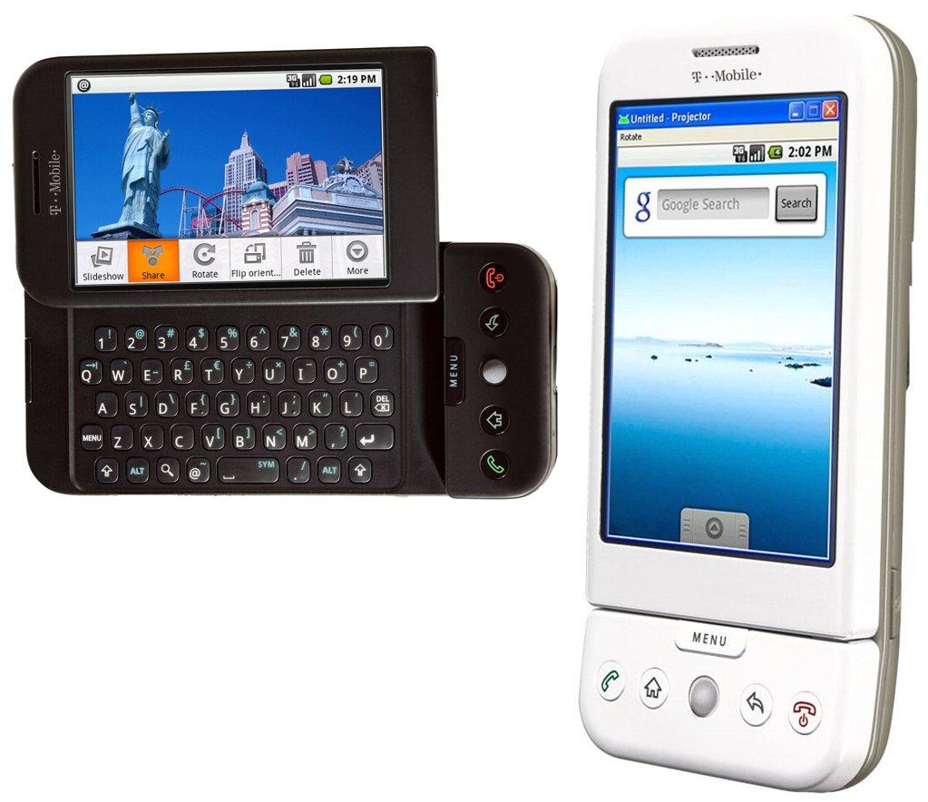 عکس های از گوشی موبایل G1 شرکت T-Mobile