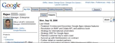 Google Intranet