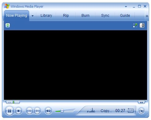 Windows Media Player Or Usability Going Down The Hill