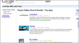 YouTube API Application Directory