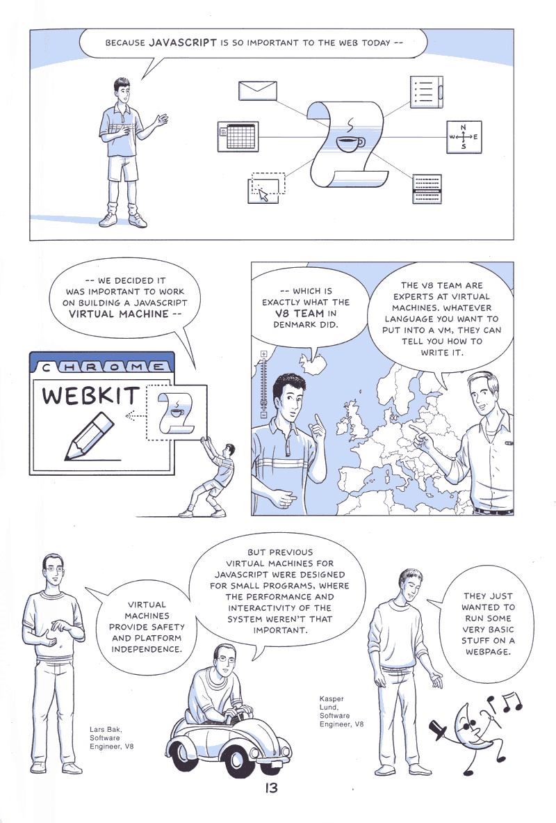Google on Google Chrome - comic book - Page 13