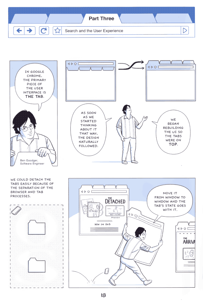 Google on Google Chrome - comic book - Page 18