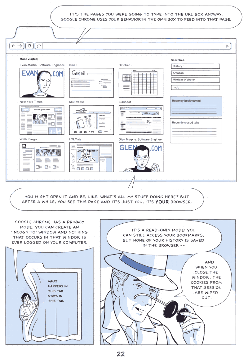 Google on Google Chrome - comic book - Page 22